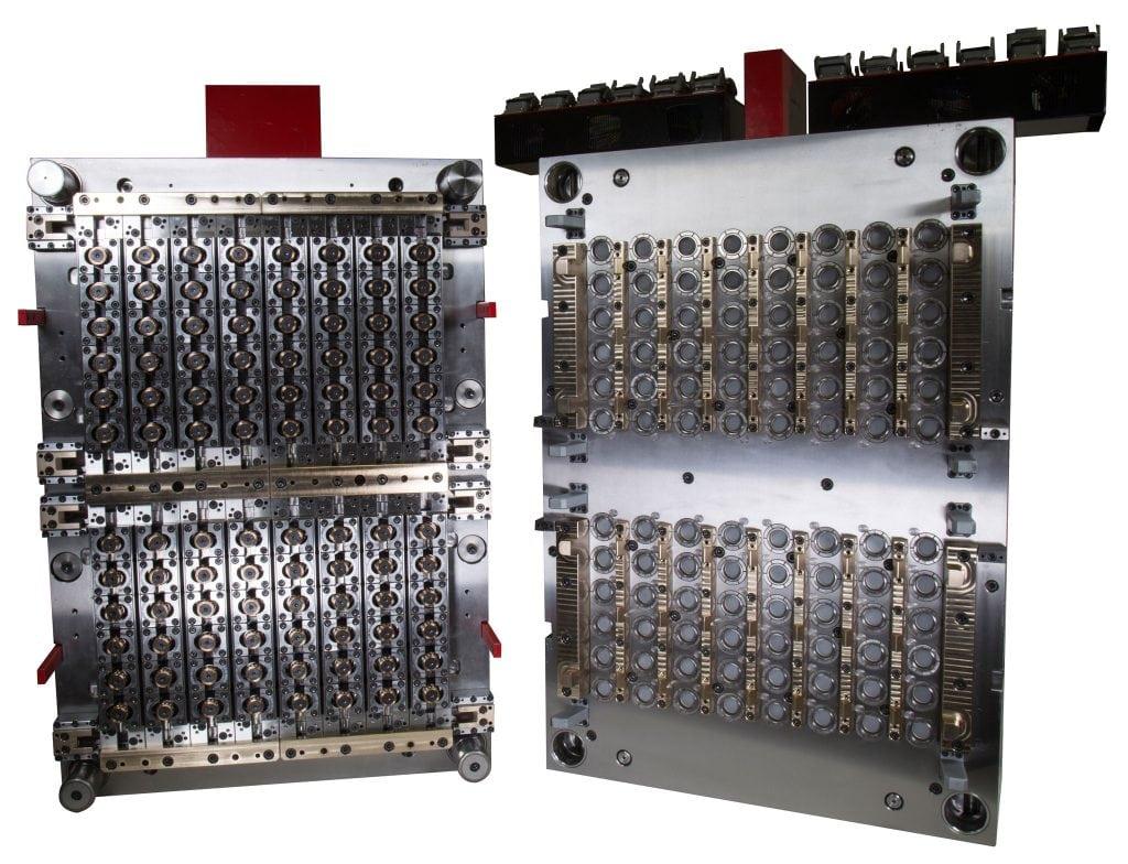 射出金型 | ミネラルウォーター用キャップ&クロージャ | StackTeck