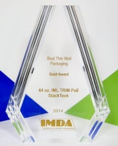 Injection Mold Manufacturing | IMDA Gold Award - Best Thin Wall Package | StackTeck Injection Molds