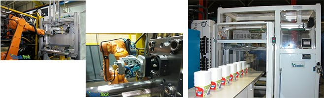 Injection Mold Technologies   IML Pilot Cell   StackTeck