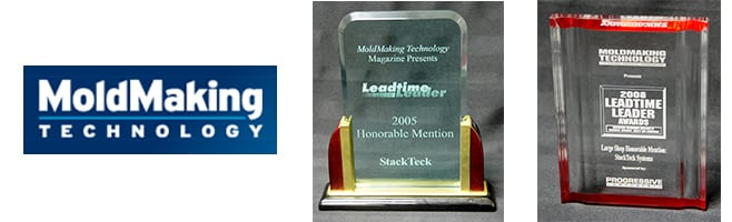 StackTeck Leadtime Leader Awards - Injection Molds and Integrated Solutions