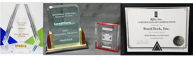 Injection Mold Manufacturing | Industry Awards | StackTeck Injection Molds