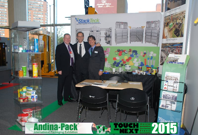 Injection Molding Tradeshow | Andina-Pack 2015 | StackTeck