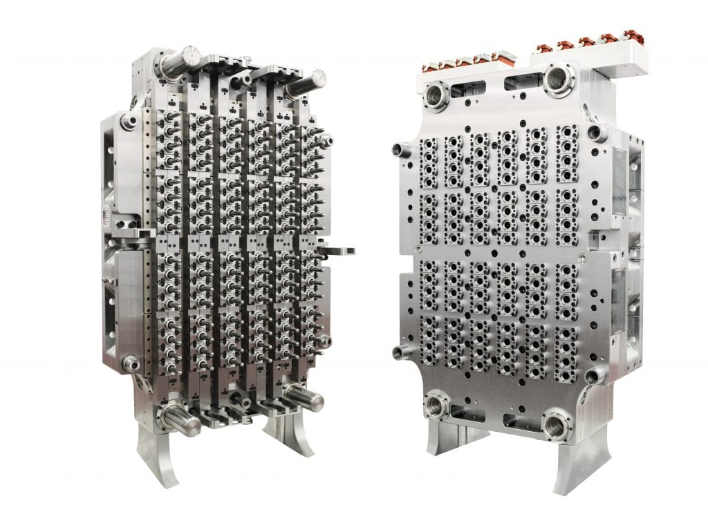 96 Cavity PET preform mold produces light-weighted PET preforms at a rate of 60,000 parts-per-hour | StackTeck