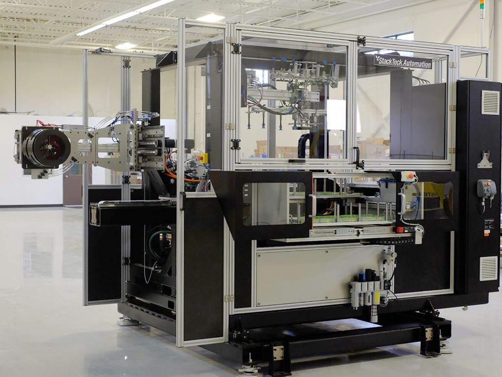 IML (In-Mold Labeling) Automation | StackTeck Automation